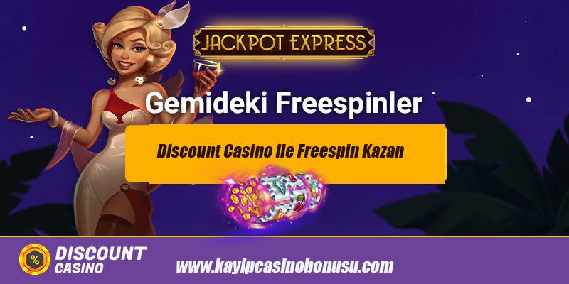 Discount Casino ile Freespin Kazan 2020